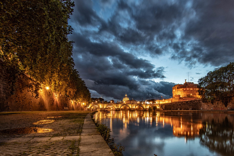 Rome @ blue hour
