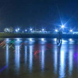 Lightpainting @ Nieuwpoort 2015 -2