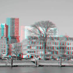 Noordereiland Rotterdam 3D