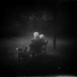 altes Ehepaar im Herbst ihres Lebens