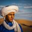 man van de woestijn