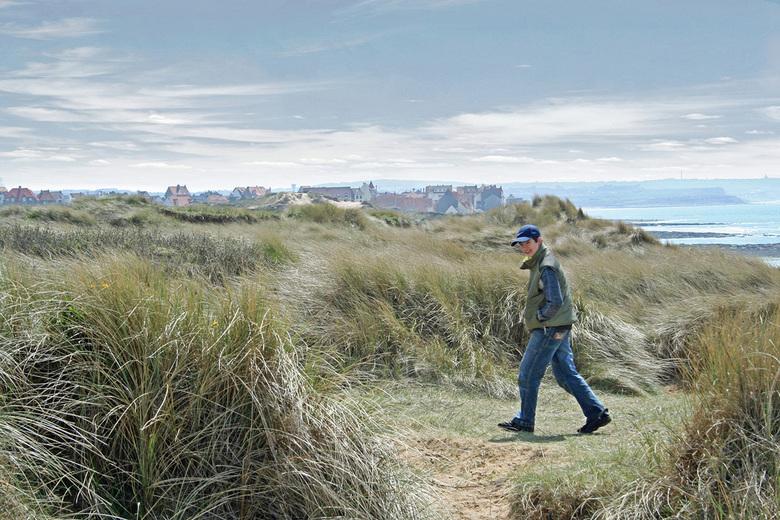 aan de kust - Joris in de duinen in Pas de Calais.