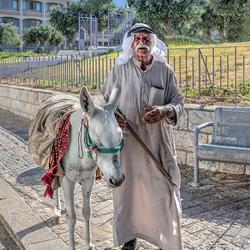 Arabier op de Olijfberg