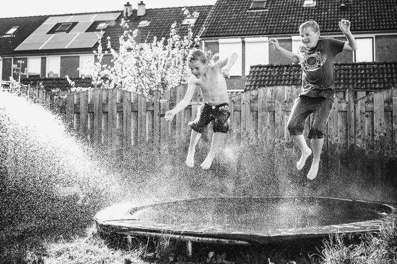 Water Fun - Afgelopen weekend genoten van de eerste zomerse dag