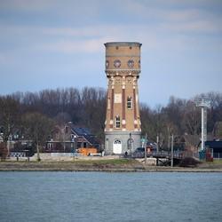 Watertoren Zwijndrecht.