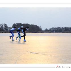 Voorlopig even geen schaatsweer....