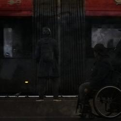 public transport people
