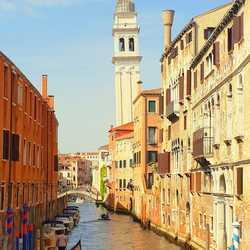 Venetië Italië april 2018