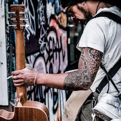 Hosier Lane Street Artist