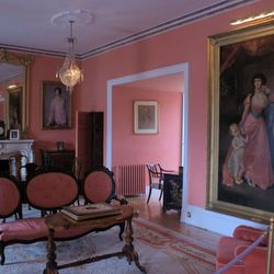 Dunvegan Castle 2 rose kamer