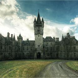 Verlaten kasteel