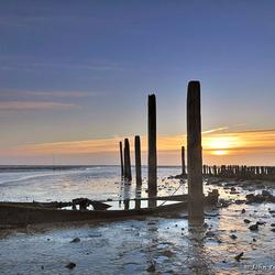 Bootje haven van Texel