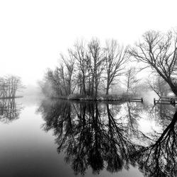 Mist in Groningen