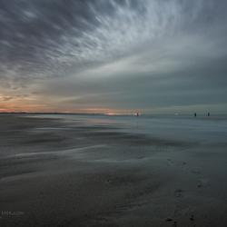 Vrede op het strand vanavond