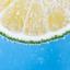 Lemon in bubbles