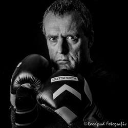 Boxer om bang van te worden
