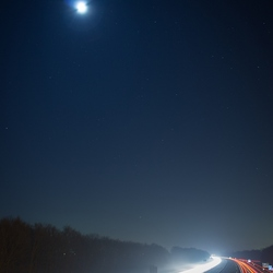 A27 bij nacht II