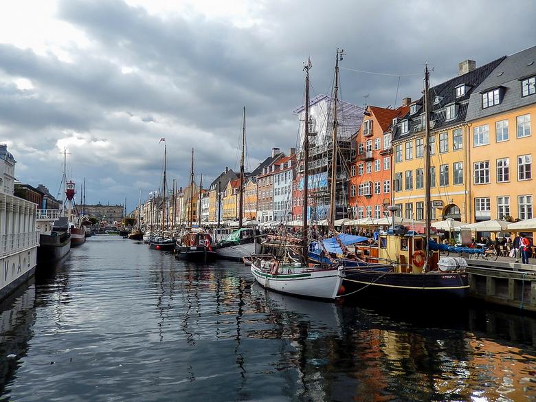 Nyhavn, Copenhagen - Nyhavn, Copenhagen <br /> heerlijk gegeten aan de haven.<br />