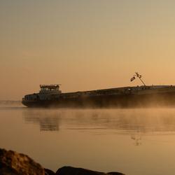 Binnenvaart op de IJssel