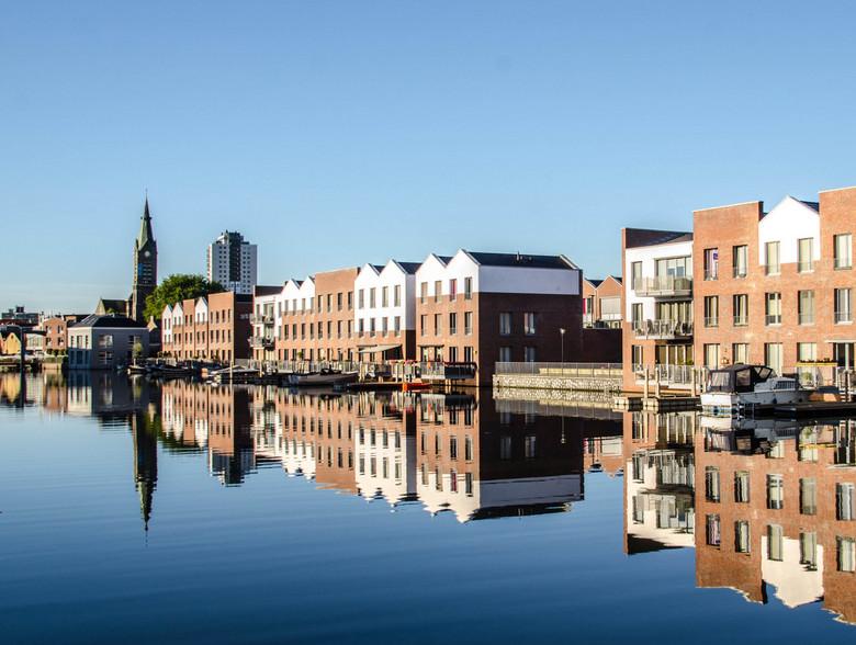 Haven van Vlaardingen - Nieuwbouw wijk in vlaardingen