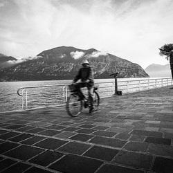 Old man Lago di Iseo