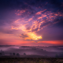 zonsopkomst veluwezoom