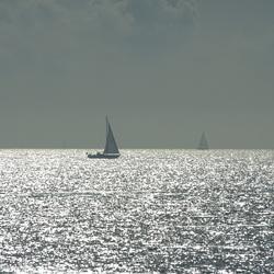 Schittering op het IJsselmeer