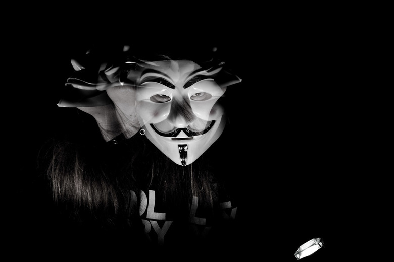 Dark scary selfportrait  -