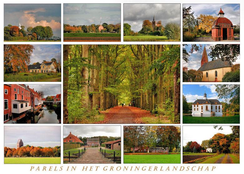 Parels in het Groningerlandschap - Wat kan de herfst toch mooi zijn niet alleen elders maar ook in de provincie Groningen<br /> Enkele parels in ene
