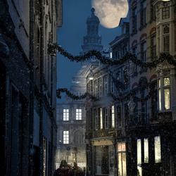 Maastricht at night