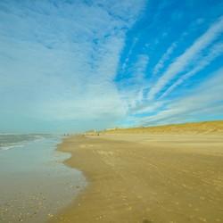 Strand egmond zee