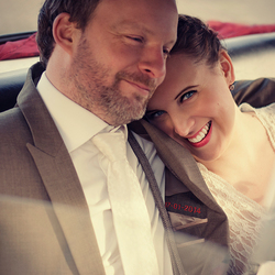 Happy Wedding Couple.