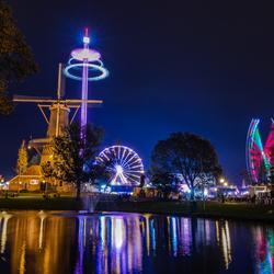 3oktober kermis in Leiden