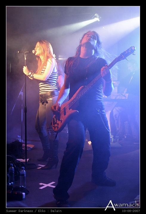 [Summer Darkness] Delain - Delain<br /> Summer Darkness 2007<br /> Ekko, Utrecht<br /> (10-8-2007)