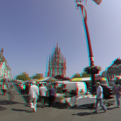 Markt Gouda 3D GoPro