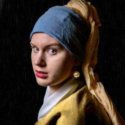 meisje met de parel van Vermeer