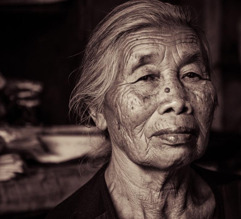 Portret van een Indonesische vrouw