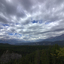 Canada langs Maligne Canyon wolkenlucht CS5