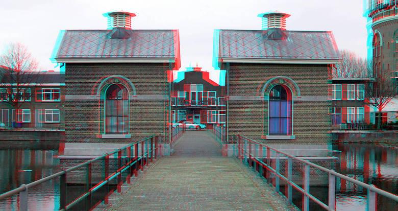 De Esch Rotterdam 3D - de Esch Rotterdam<br /> 3D anaglyph stereo red/cyan