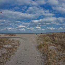 Strandzicht Priwall (D)