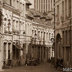 Prachtige straatjes in Lille - Frankrijk