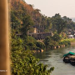 Rivier de Kwai bij  Kanchanaburi