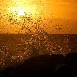 Zonsondergang, Curacao
