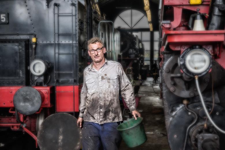 Stoomtrein Museum -Beekbergen.2 - In de vorige upload schreef ik al dat dit spoorweg museum vooral in stand wordt gehouden door vrijwillegers. Ik was