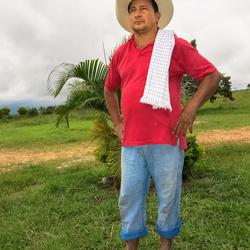 Colombiaanse boer