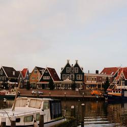 Haven-panorama Volendam