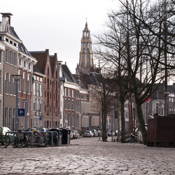 The streets of Groningen