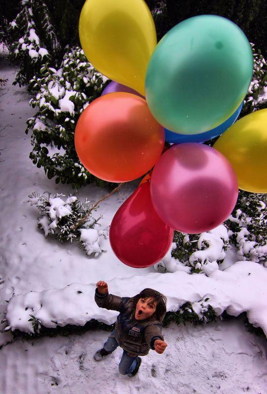 Don't let go! - Loslaten en je bent de ballonnen voor altijd kwijt.