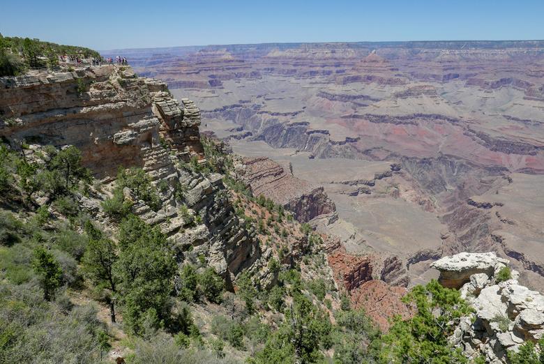 Zomer in de Grand Canyon - Uitzicht op de Grand Canyon, de prachtige kloof in de Amerikaanse staat Arizona