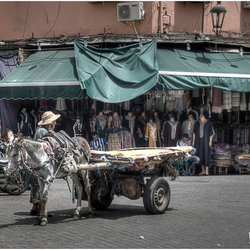 Op straat in Marrakech 2